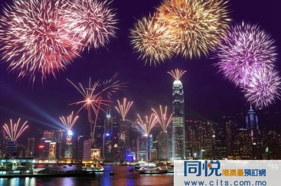 香港除夕煙花倒數賀回歸二十周年 規模將擴大