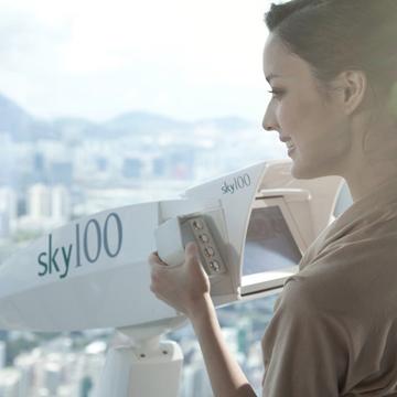 天際100香港觀景臺電子換票證