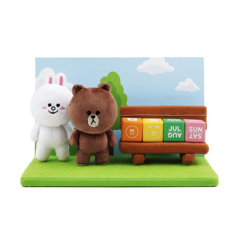LINE FRIENDS聯手CHOCOOLATE推出合作款