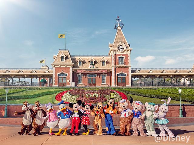 香港迪士尼樂園一日門票