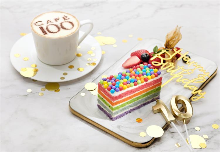 天際100香港觀景臺—彩虹之嚐蛋糕套票