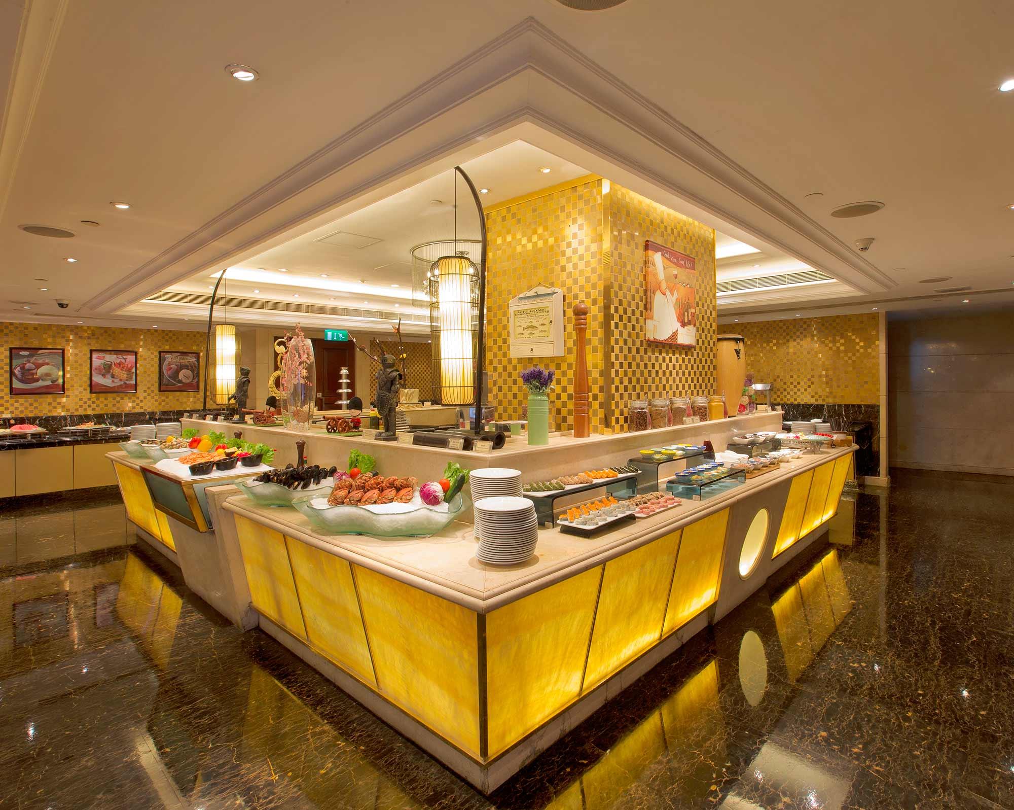 英皇娛樂酒店御廚餐廳自助晚餐