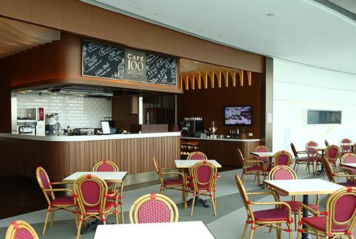香港麗思卡爾頓100咖啡廳